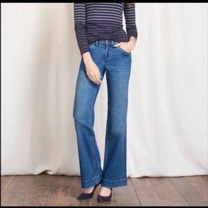 BODEN Windsor Wide Leg Jeans , Women's Size US 8R